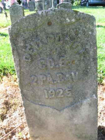 PONCE (CW), GEORGE - Lancaster County, Pennsylvania | GEORGE PONCE (CW) - Pennsylvania Gravestone Photos