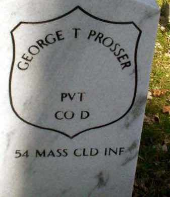 PROSSER (CW), GEORGE T. - Lancaster County, Pennsylvania | GEORGE T. PROSSER (CW) - Pennsylvania Gravestone Photos