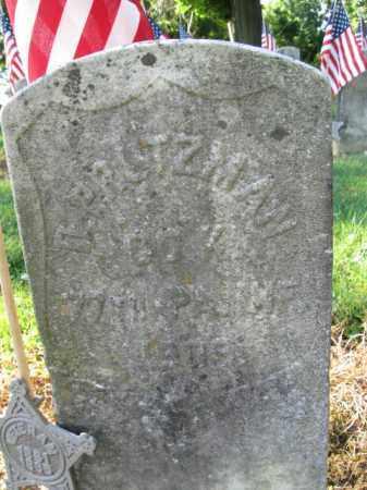 PRUTZMAN (CW), DANIEL - Lancaster County, Pennsylvania   DANIEL PRUTZMAN (CW) - Pennsylvania Gravestone Photos