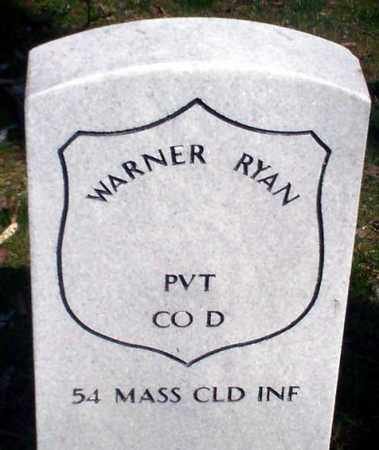 RYAN (CW), WARNER - Lancaster County, Pennsylvania | WARNER RYAN (CW) - Pennsylvania Gravestone Photos