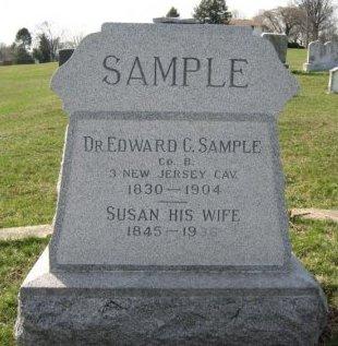 SAMPLE (CW), EDWARD C. - Lancaster County, Pennsylvania | EDWARD C. SAMPLE (CW) - Pennsylvania Gravestone Photos