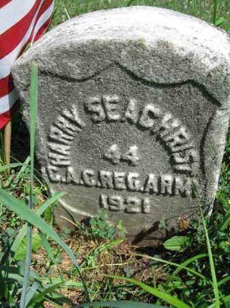 SEACHRIST (WW I), HARRY - Lancaster County, Pennsylvania   HARRY SEACHRIST (WW I) - Pennsylvania Gravestone Photos