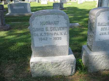 SELVERT (CW), DAVID S. - Lancaster County, Pennsylvania | DAVID S. SELVERT (CW) - Pennsylvania Gravestone Photos