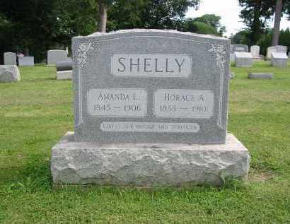 SHELLY, HORACE A - Lancaster County, Pennsylvania | HORACE A SHELLY - Pennsylvania Gravestone Photos