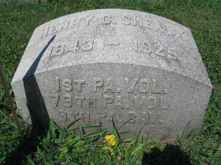 SHENCK (CW), HENRY C. - Lancaster County, Pennsylvania   HENRY C. SHENCK (CW) - Pennsylvania Gravestone Photos