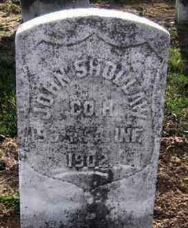 SHOLLAW (CW), JOHN - Lancaster County, Pennsylvania   JOHN SHOLLAW (CW) - Pennsylvania Gravestone Photos