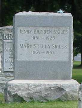 SKILES, MARY STELLA - Lancaster County, Pennsylvania | MARY STELLA SKILES - Pennsylvania Gravestone Photos