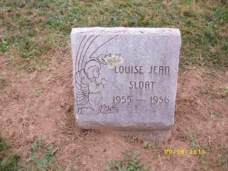 SLOAT, LOUISE JEAN - Lancaster County, Pennsylvania | LOUISE JEAN SLOAT - Pennsylvania Gravestone Photos