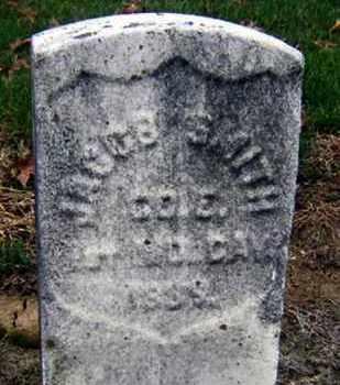 SMITH (CW), JACOB - Lancaster County, Pennsylvania | JACOB SMITH (CW) - Pennsylvania Gravestone Photos