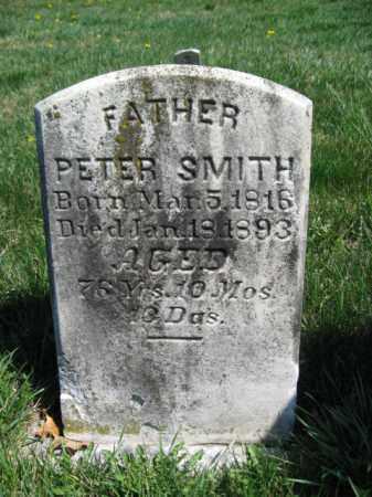 SMITH, PETER - Lancaster County, Pennsylvania | PETER SMITH - Pennsylvania Gravestone Photos