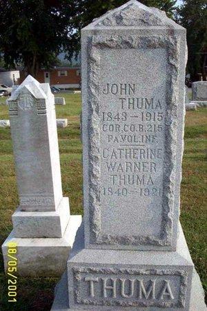 THUMA (CW), JOHN - Lancaster County, Pennsylvania | JOHN THUMA (CW) - Pennsylvania Gravestone Photos