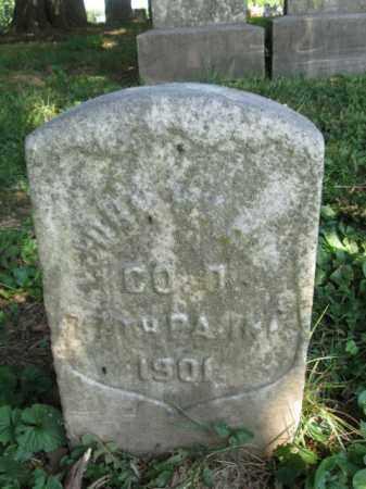 WAHL (CW), JOHN - Lancaster County, Pennsylvania | JOHN WAHL (CW) - Pennsylvania Gravestone Photos
