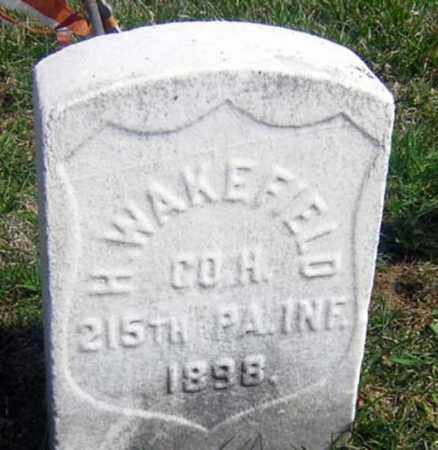 WAKEFIELD (CW), HENRY - Lancaster County, Pennsylvania   HENRY WAKEFIELD (CW) - Pennsylvania Gravestone Photos