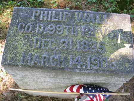 WALL (CW), PHILIP - Lancaster County, Pennsylvania | PHILIP WALL (CW) - Pennsylvania Gravestone Photos