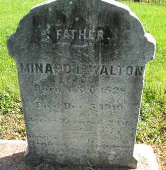 WALTON, MINARD L. - Lancaster County, Pennsylvania | MINARD L. WALTON - Pennsylvania Gravestone Photos
