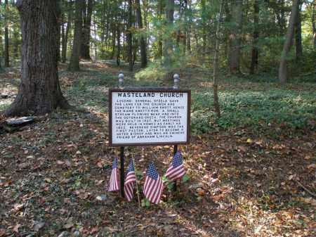 WASTELAND, CHURCH - Lancaster County, Pennsylvania | CHURCH WASTELAND - Pennsylvania Gravestone Photos