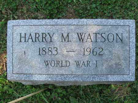 WATSON (WW I), HARRY M. - Lancaster County, Pennsylvania   HARRY M. WATSON (WW I) - Pennsylvania Gravestone Photos