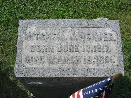 WEAVER, MITCHELL J - Lancaster County, Pennsylvania | MITCHELL J WEAVER - Pennsylvania Gravestone Photos