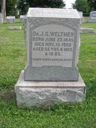 WELTMER, J G - Lancaster County, Pennsylvania | J G WELTMER - Pennsylvania Gravestone Photos