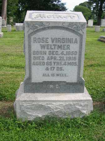 WELTMER, ROSE VIRGINIA - Lancaster County, Pennsylvania | ROSE VIRGINIA WELTMER - Pennsylvania Gravestone Photos