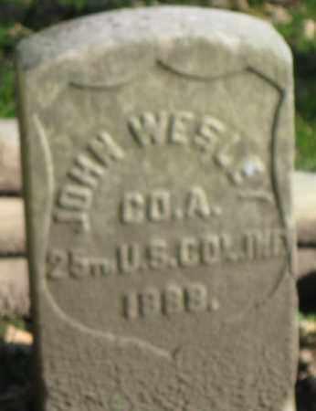 WESLEY (CW), JOHN - Lancaster County, Pennsylvania | JOHN WESLEY (CW) - Pennsylvania Gravestone Photos