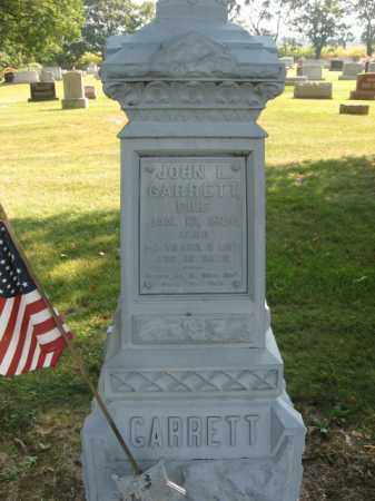 GARRETT (CW), PVT. JOHN L. - Lebanon County, Pennsylvania | PVT. JOHN L. GARRETT (CW) - Pennsylvania Gravestone Photos