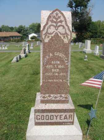 GOODYEAR, JOHN A. - Lebanon County, Pennsylvania   JOHN A. GOODYEAR - Pennsylvania Gravestone Photos