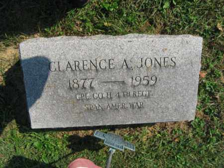 JONES, CLARENCE A. - Lebanon County, Pennsylvania | CLARENCE A. JONES - Pennsylvania Gravestone Photos