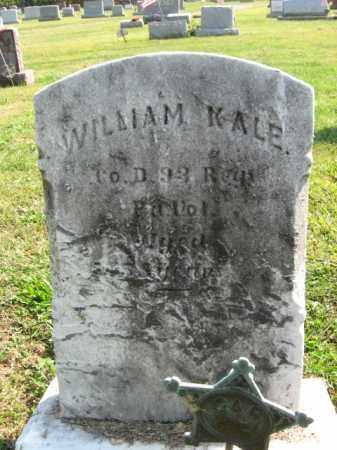 KALE, WILLIAM - Lebanon County, Pennsylvania | WILLIAM KALE - Pennsylvania Gravestone Photos