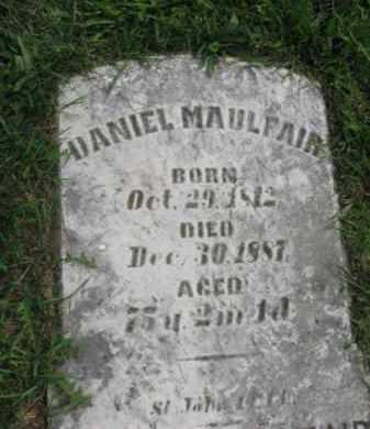 MAULFAIR, DANIEL - Lebanon County, Pennsylvania | DANIEL MAULFAIR - Pennsylvania Gravestone Photos