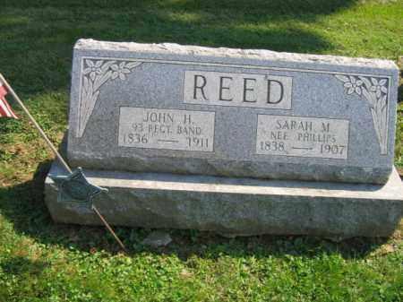 REED, JOHN H. - Lebanon County, Pennsylvania | JOHN H. REED - Pennsylvania Gravestone Photos