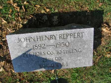 REPPERT, JOHN HENRY - Lebanon County, Pennsylvania   JOHN HENRY REPPERT - Pennsylvania Gravestone Photos