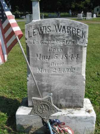 WARREN, LEWIS - Lebanon County, Pennsylvania | LEWIS WARREN - Pennsylvania Gravestone Photos