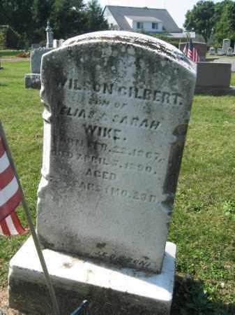WIKE, WILSON GILBERT - Lebanon County, Pennsylvania | WILSON GILBERT WIKE - Pennsylvania Gravestone Photos