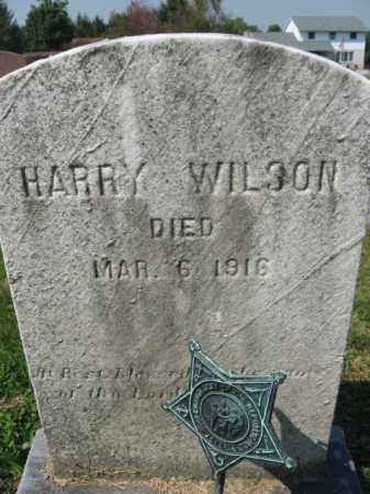 WILSON, HARRY - Lebanon County, Pennsylvania | HARRY WILSON - Pennsylvania Gravestone Photos