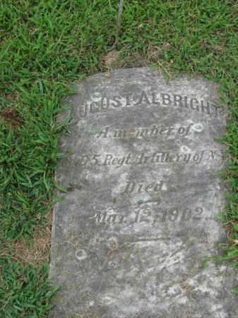 ALBRIGHT, AUGUST - Lehigh County, Pennsylvania | AUGUST ALBRIGHT - Pennsylvania Gravestone Photos