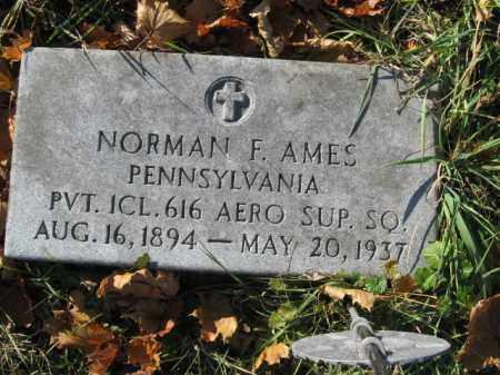 AMES, NORMAN F. - Lehigh County, Pennsylvania | NORMAN F. AMES - Pennsylvania Gravestone Photos