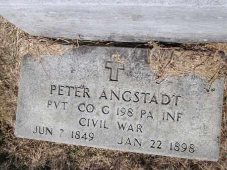 ANGSTADT (CW), PETER - Lehigh County, Pennsylvania | PETER ANGSTADT (CW) - Pennsylvania Gravestone Photos