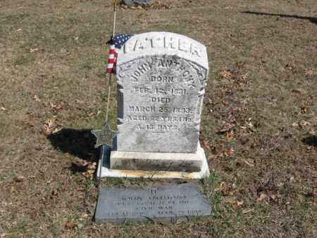 ANTHONY  (CW), JOHN - Lehigh County, Pennsylvania | JOHN ANTHONY  (CW) - Pennsylvania Gravestone Photos