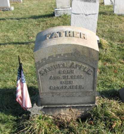 APPLE, PVT. SAMUEL - Lehigh County, Pennsylvania   PVT. SAMUEL APPLE - Pennsylvania Gravestone Photos