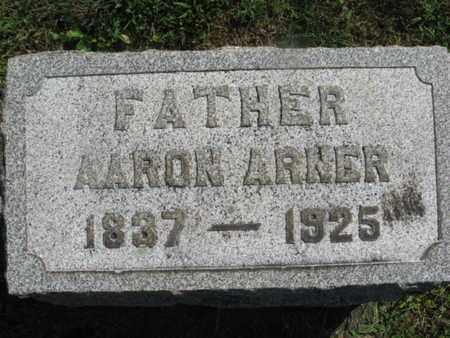 ARNER, AARON - Lehigh County, Pennsylvania | AARON ARNER - Pennsylvania Gravestone Photos