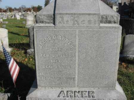 ARNER (CW), CAPTAIN JACOB D. - Lehigh County, Pennsylvania   CAPTAIN JACOB D. ARNER (CW) - Pennsylvania Gravestone Photos