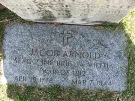 ARNOLD, JACOB - Lehigh County, Pennsylvania | JACOB ARNOLD - Pennsylvania Gravestone Photos