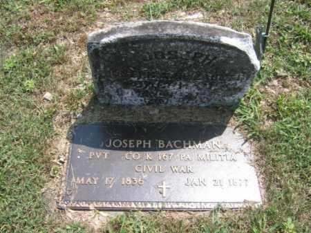 BACHMAN, JOSEPH - Lehigh County, Pennsylvania | JOSEPH BACHMAN - Pennsylvania Gravestone Photos