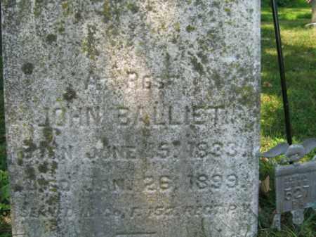 BALLIET, JOHN - Lehigh County, Pennsylvania | JOHN BALLIET - Pennsylvania Gravestone Photos