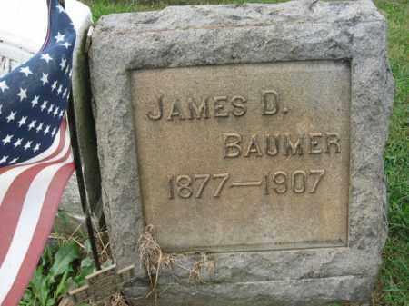 BAUMER, JAMES D. - Lehigh County, Pennsylvania   JAMES D. BAUMER - Pennsylvania Gravestone Photos