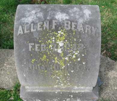 BEARY, ALLEN F. - Lehigh County, Pennsylvania | ALLEN F. BEARY - Pennsylvania Gravestone Photos