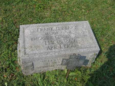 BEARY, GENERAL FRANK D. - Lehigh County, Pennsylvania   GENERAL FRANK D. BEARY - Pennsylvania Gravestone Photos