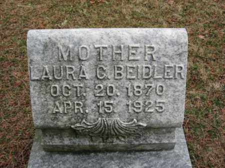 BEIDLER, LAURA C. - Lehigh County, Pennsylvania | LAURA C. BEIDLER - Pennsylvania Gravestone Photos