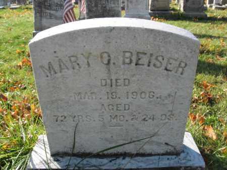 BEISER, MARY O. - Lehigh County, Pennsylvania   MARY O. BEISER - Pennsylvania Gravestone Photos